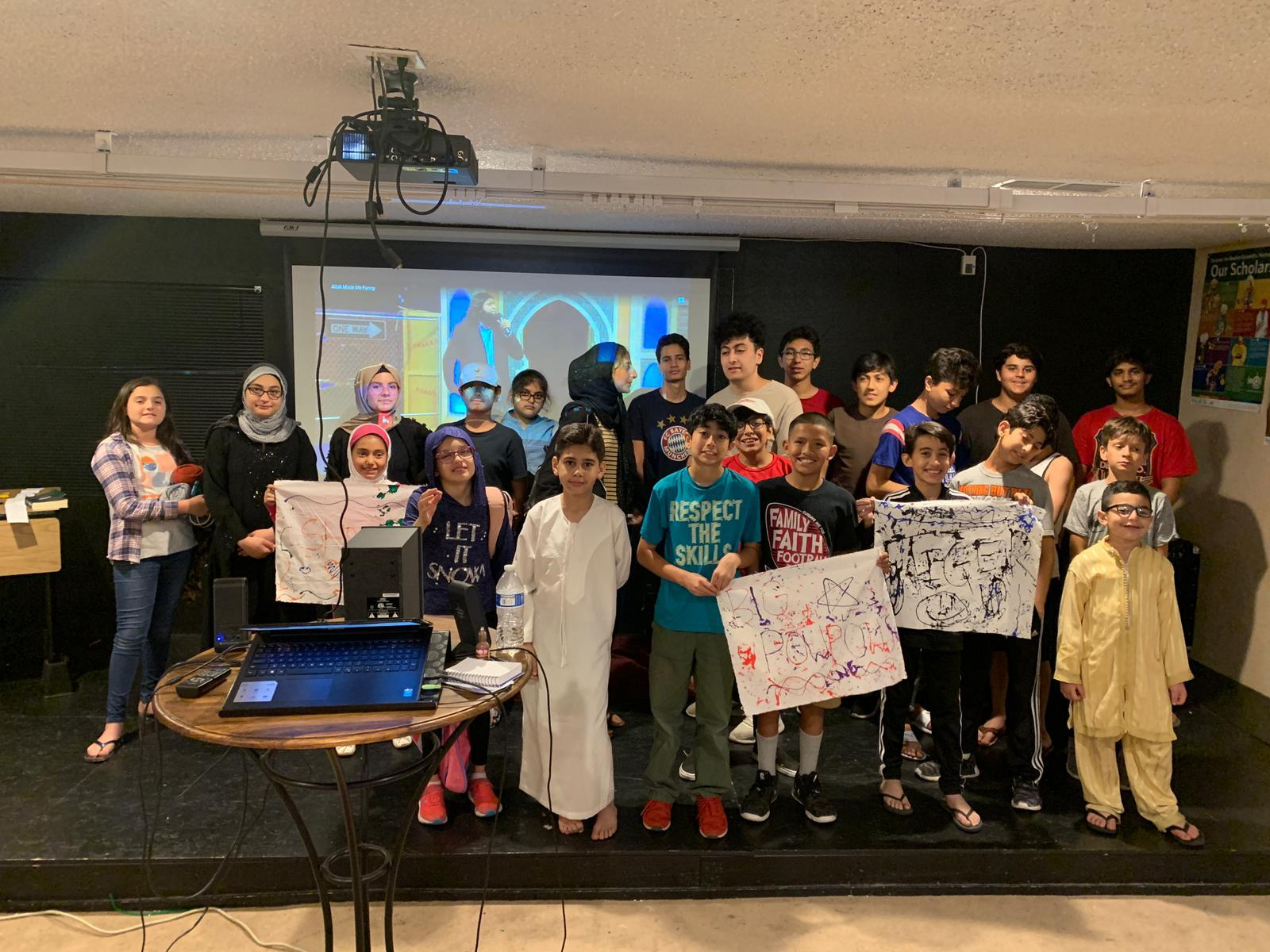 Youngsters from UICA spent 6th night of Ramadan together learning…